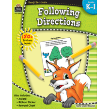 Ready-Set-Learn: Following Directions Grade K-1