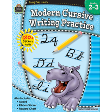 Ready-Set-Learn: Modern Cursive Writing Practice Grade 2-3