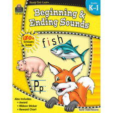 Ready-Set-Learn: Beginning & Ending Sounds Grade K-1