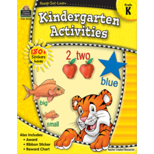 Ready-Set-Learn: Kindergarten Activities