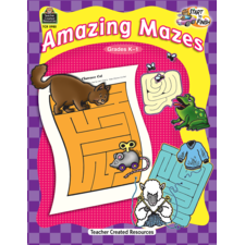Start to Finish: Amazing Mazes Grade K-1