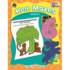Start to Finish: More Mazes Grade K-1