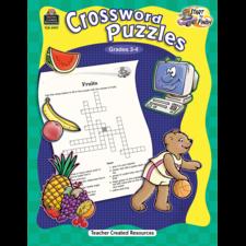 Start to Finish: Crossword Puzzles Grade 3-4