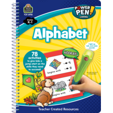 Power Pen Learning Book: Alphabet