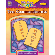 Bible Stories & Activities: Ten Commandments