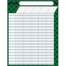 Green Plaid Incentive Chart