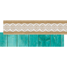 Shabby Chic Ribbon Runner