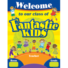 Fantastic Kids Welcome Chart