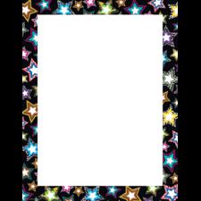 Fancy Stars Blank Chart