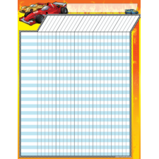 Race Cars Incentive Chart
