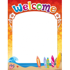 Surf's Up Welcome Chart