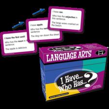 I Have, Who Has Language Arts Game Grade 3-4
