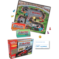 Super Speedway Game Grade 2-3