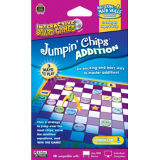 Jumpin Chips Computer Game: Addition