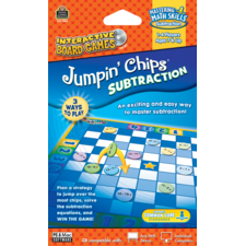 Jumpin Chips Computer Game: Subtraction