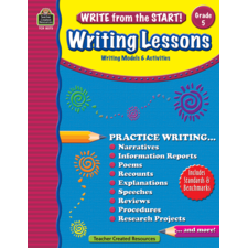 Write from the Start! Writing Lessons Grade 5