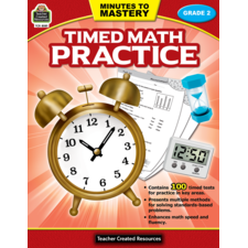 Minutes to Mastery - Timed Math Practice Grade 2