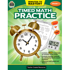 Minutes to Mastery - Timed Math Practice Grade 3