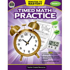 Minutes to Mastery - Timed Math Practice Grade 5
