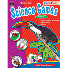 Full-Color Science Games, Grades 1-2