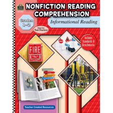 Nonfiction Reading Comprehension: Informational Reading, Grades 1-2