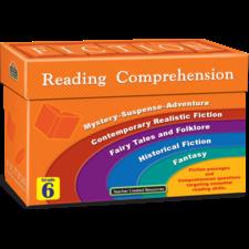Fiction Reading Comprehension Cards Grade 6