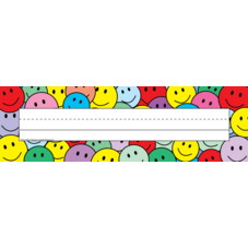 Smiley Faces Name Plates (flat)