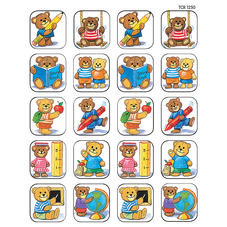 School Bears Stickers