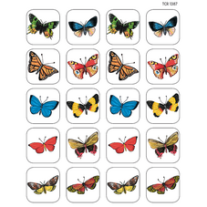 Moths & Butterflies Stickers