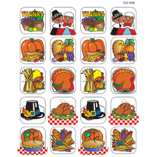 Thanksgiving 2 Stickers