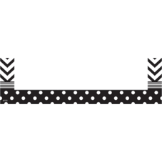 Chevron and Dots Magnetic Pockets - Small