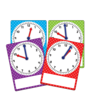 Magnetic Foam Geared Clocks: Small 4-Pack