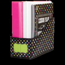 Chalkboard Brights Book Bin