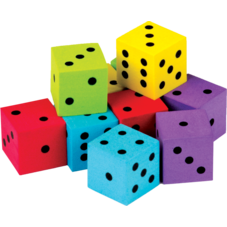 Colorful Dice 20-Pack