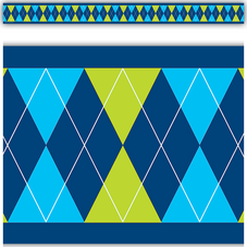 Argyle Straight Border Trim