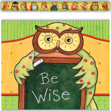 Owl Straight Border Trim from Susan Winget