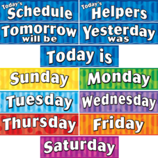 Days of the Week Headliners
