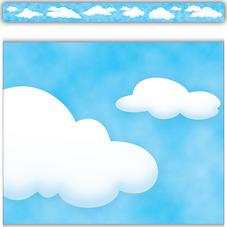 Clouds Straight Border Trim