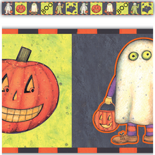 Halloween Border Straight Trim from Susan Winget