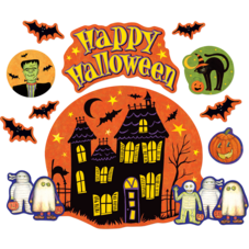 Happy Halloween Bulletin Board from Susan Winget