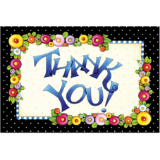 Thank You Postcards from Mary Engelbreit