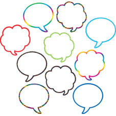 Speech/Thought Bubbles Accents