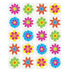 Fun Flowers Stickers