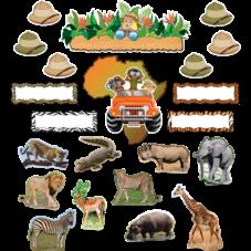Safari Bulletin Board Display Set