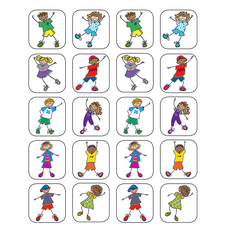 Fantastic Kids Stickers