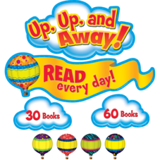 Read Every Day Bulletin Board Display Set