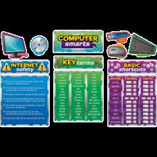 Computer Smarts Bulletin Board Display Set