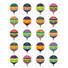 Hot Air Balloons Stickers