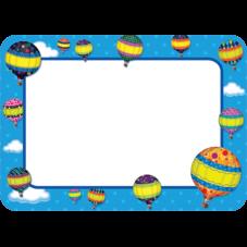 Hot Air Balloons Name Tags/Labels