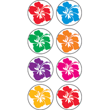 Hibiscus Mini Stickers